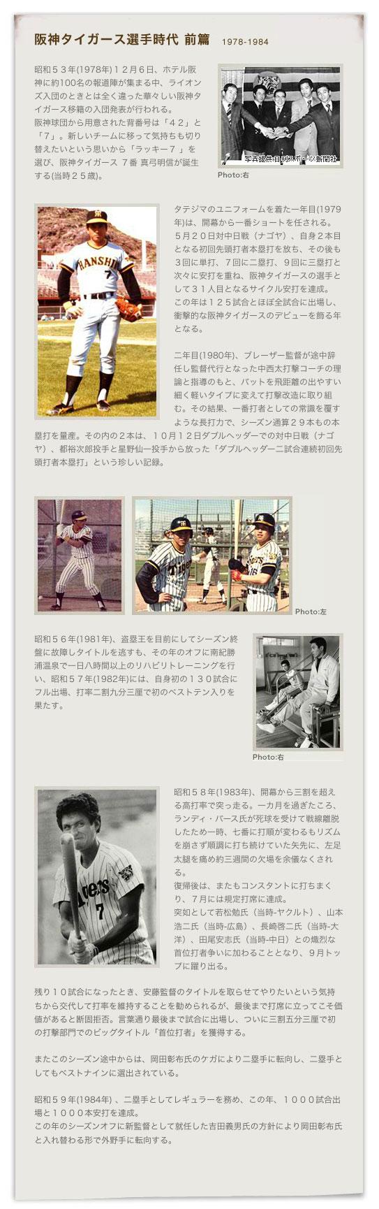 阪神タイガース選手時代(前篇)-3