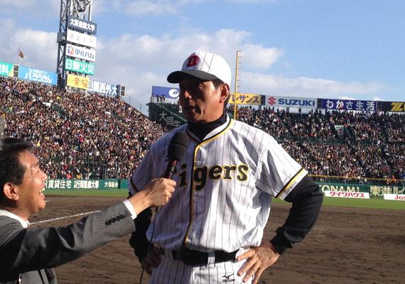 阪神巨人OB戦2012.11.18-4